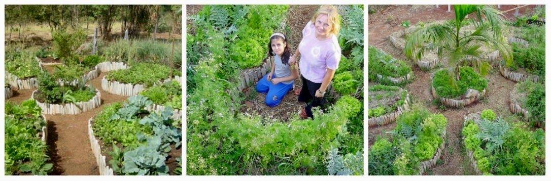 Making mandala garden