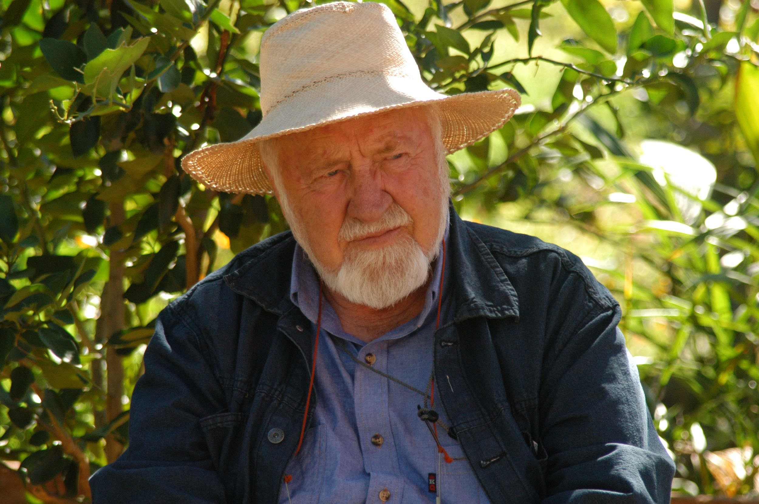 Bill mollison at Ecocentro IPEC