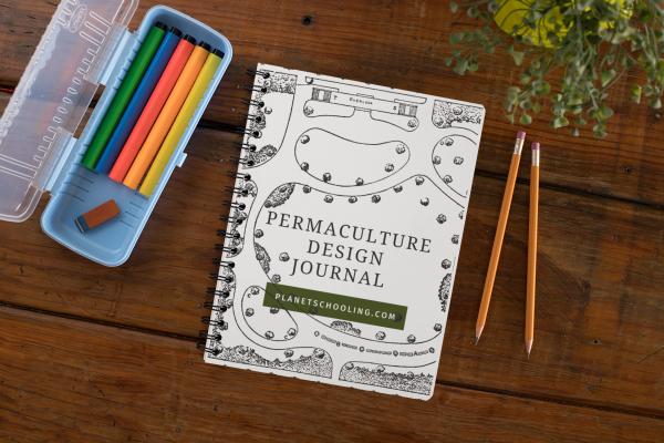 Children's Permaculture design journal